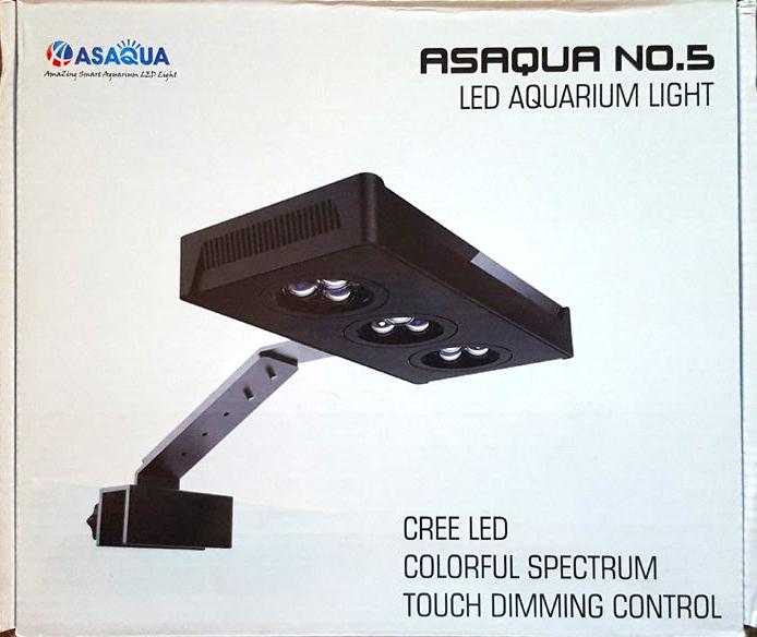 ASAqua no5 NANO LED verpakking