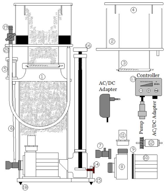 Deltec SC 1351 SC 1456 onderdelen