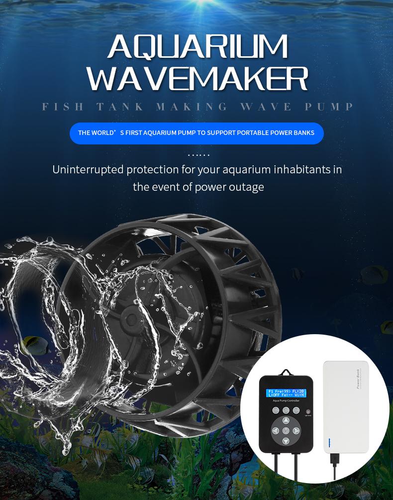 Coral Box RN-1 Reverse Nano Wavemaker