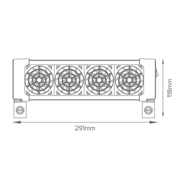 d amp d ocean breeze cooling fan 4 voorkant