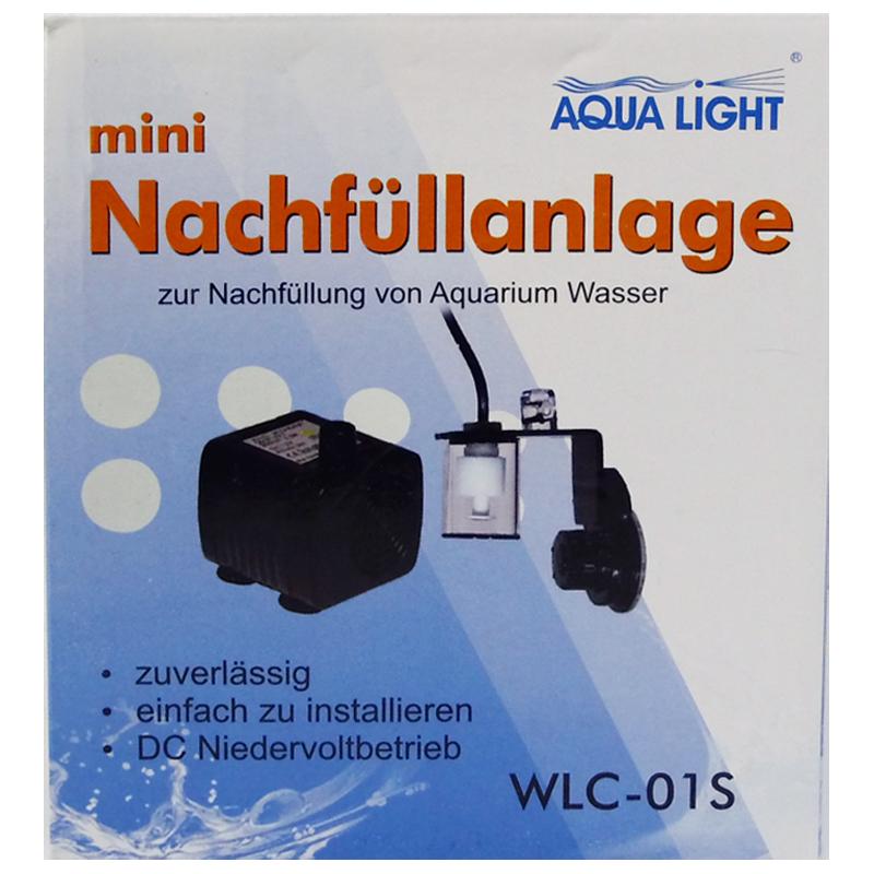 mini water bijvulsysteem met transformator verpakking
