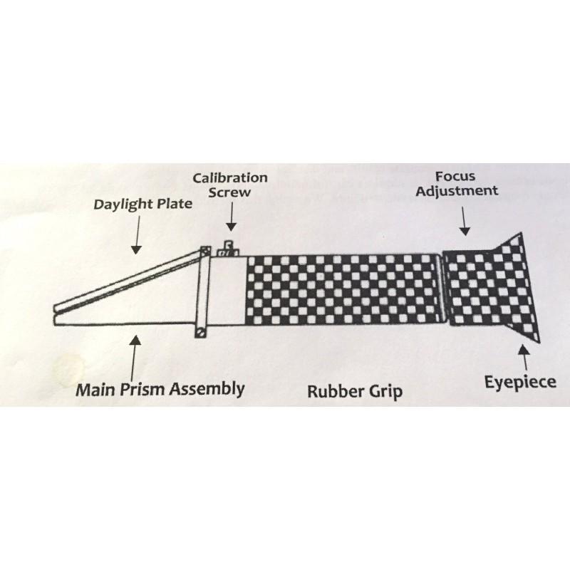 Refractometer superior