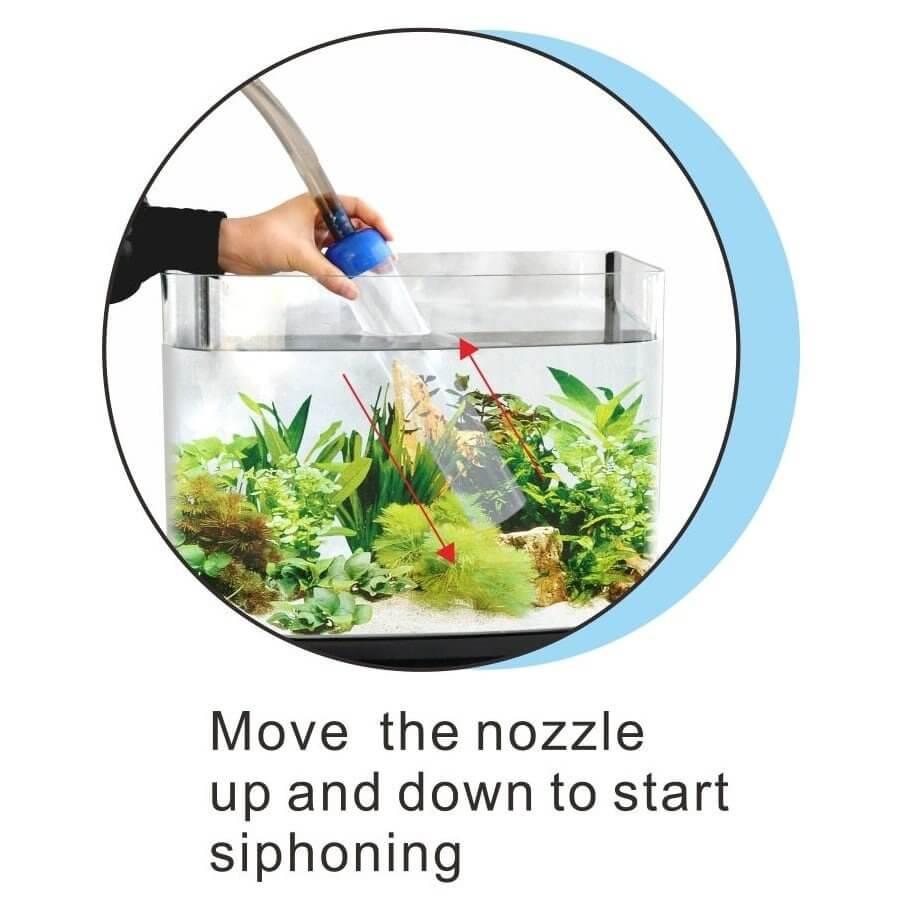resun gravel vacuum cleaner compact