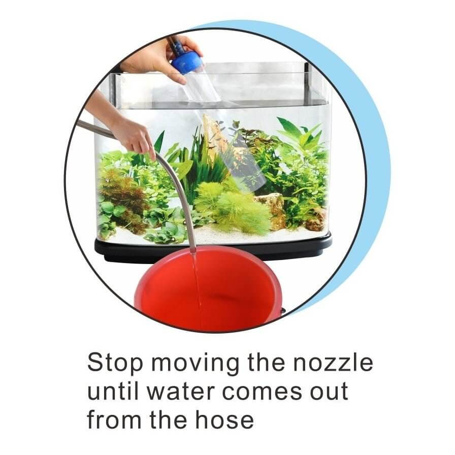 Resun gravel vacuum cleaner gebruik
