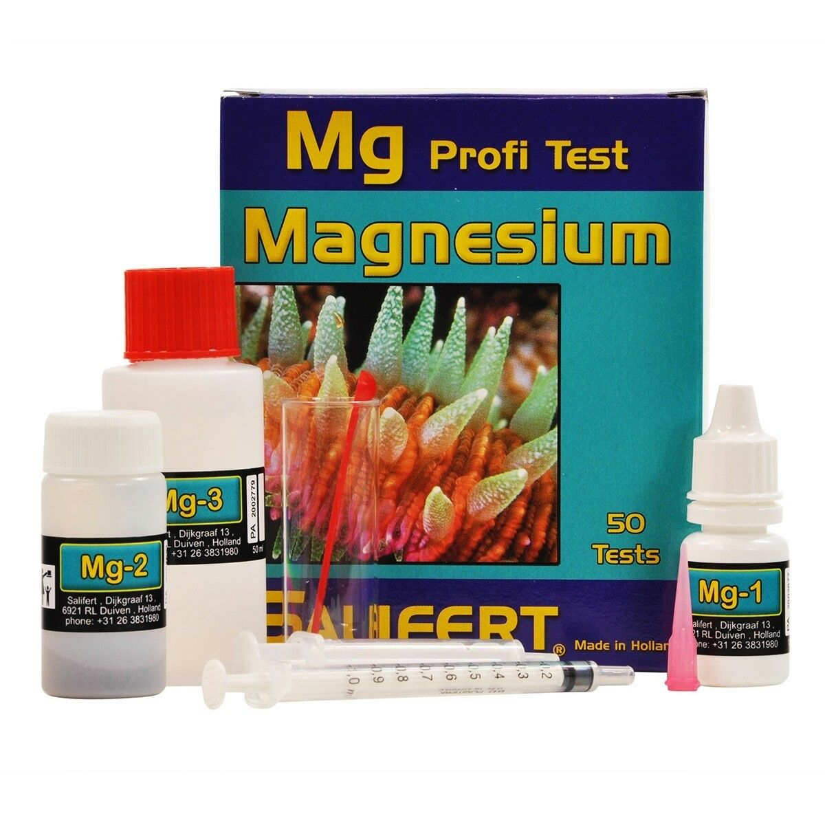 salifert profi test magnesium
