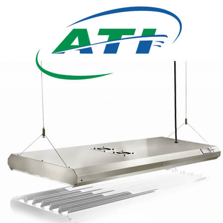 ATI T5 Sun Power armaturen dimbaar