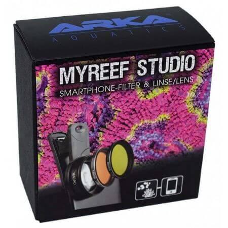 ARKA myReef -Studio - Smartphone kleurfilter & Makro-Lens