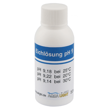 Aqua Light pH calibration solution PH 9 50 ml bottle