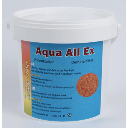 AquaLight AquaAllEx - demineralisatiehars 1000ml