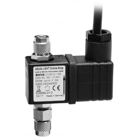 AquaLight CO2 magneetventiel 24 volt DC - 4/6 mm slang