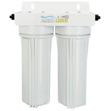AquaLight Leeg filter 2x10 inch ca. 3000ml inclusief lege patronen