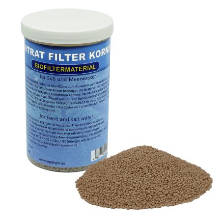 AquaLight Nitraatafbrekende filterkorrels