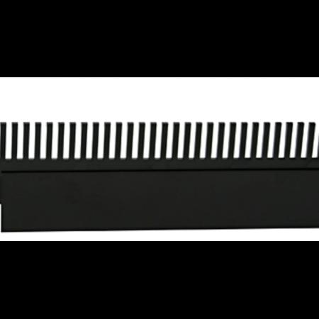 AquaLight overloopkam met houder, lengte 36 cm