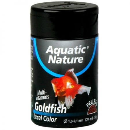 Aquatic Nature GOLD FISH FOOD EXCEL 124 ML