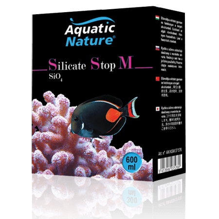 Aquatic Nature Silicate Stop M Seawater 600 ML
