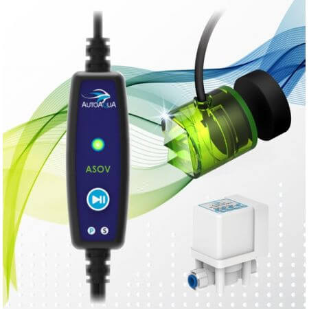 AutoAqua Smart ASOV - overflow protection for osmosis device with solenoid valve
