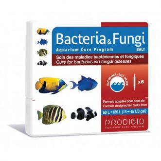 Bacteria en Fungi Zout