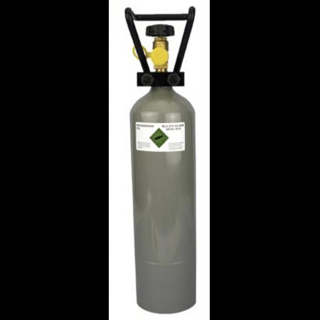 CO2 fles 2kg leeg / zonder vulling