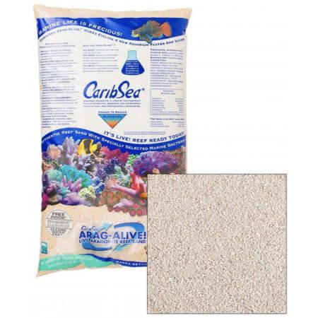 CaribSea ARAG-ALIVE Bahamas Oolite - 0.25-1mm