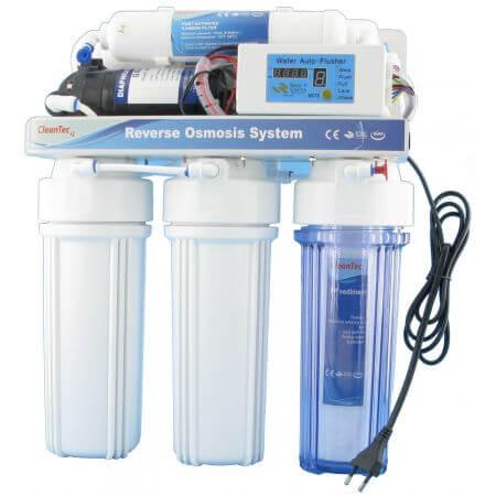 Cleantec 75 Professional osmose 260ltr. + Boosterpomp en controller
