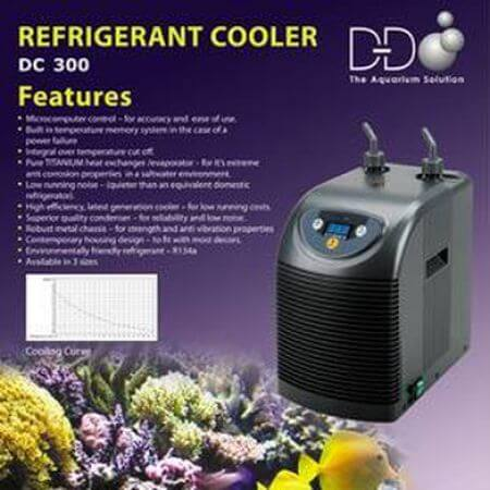 D&D Refrigerated aquarium koeler DC-300