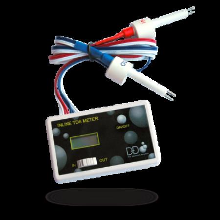 D&D in-line dual TDS meter