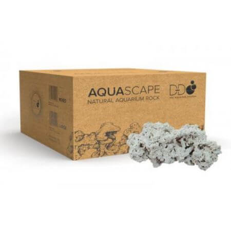 DD Aquascape Natural Aquarium Rock (20 kg gemengde doos)