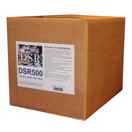 DSR 500L maintainance package, ~1 year 19KG