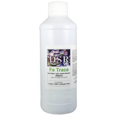 DSR Fe Trace: Iron trace element green/red,  LPS polip expansion