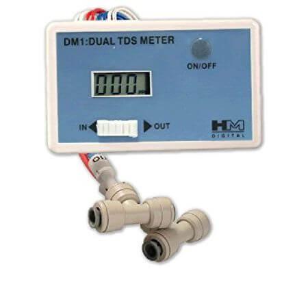 DUAL TDS monitor - voor het meten van opgeloste stoffen
