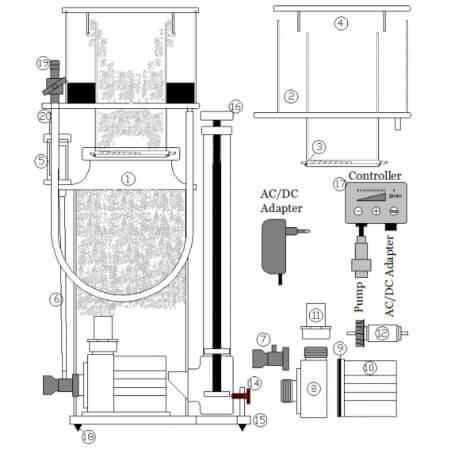 Deltec SC 1351 & SC 1456, 24V DC onderdelen