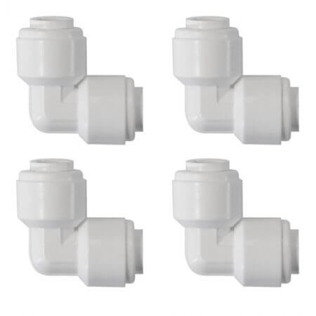 Ecotech Push to connect Elbows (4pack)
