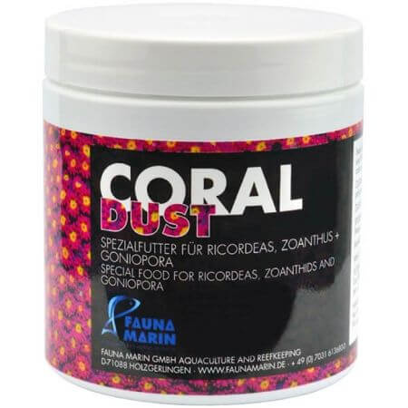 Fauna Marin Coral Dust (Ricordea / Zoanthus food) 100ml.
