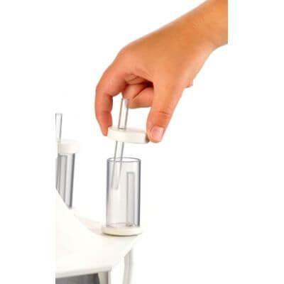 Geluidsdempertje voor afschuimer (aansluiting 4-6mm)