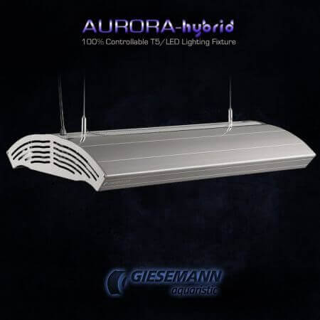Giesemann AURORA HYBRID 4 x 24 Watt + 1 x 85W LED - 600 mm Polar White