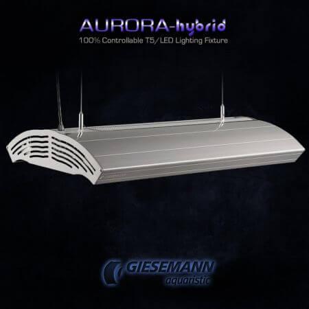 Giesemann AURORA HYBRID 4 x 24 Watt + 1 x 85W LED - 600 mm