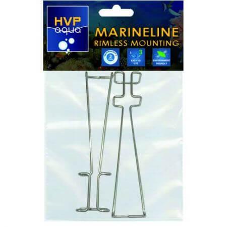 HVPaqua Rimless montage beugels tbv MarineLINE
