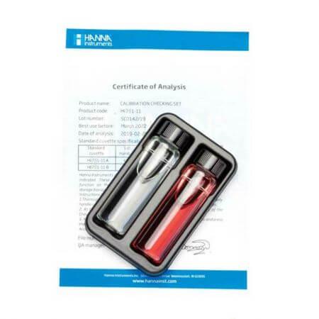 Hanna Checker pocket fotometer Nitraat LR-gecertificeerde controleset