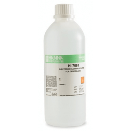 Hanna Cleaning solution for PH and redox electrodes 500 ml