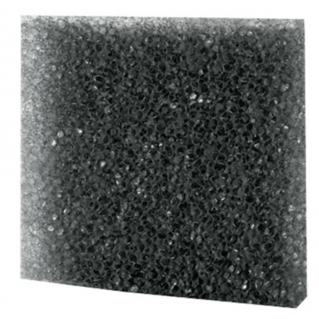 Hobby Zwart filter schuim grof 50x50x3cm.