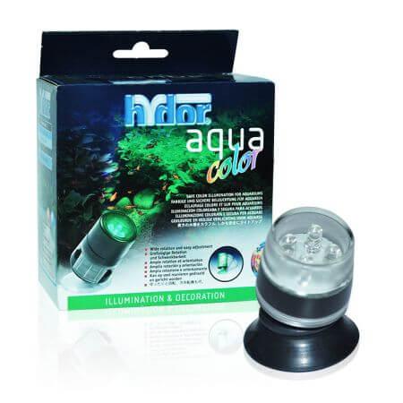 Hydor Color - Green. (groen) - 4 LEDjes - voor boven en onderwatergebruik