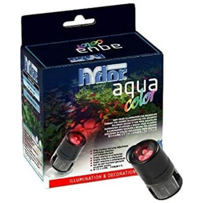 Hydor Color - Red. (rood) - 4 LEDjes - voor boven en onderwatergebruik