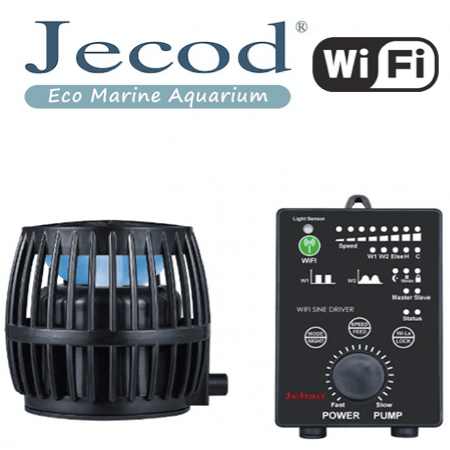 Jecod DW-9 + Wi-FI controller (Stromingspomp/wavemaker)
