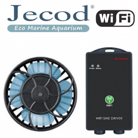 Jecod/Jebao SLW-10 M Wi-Fi stromingspompen (sine wave) afbeelding