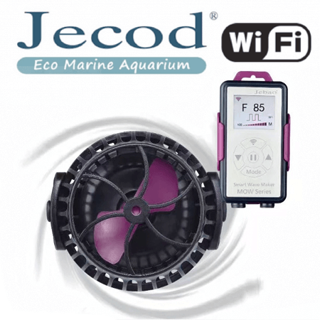 Jecod MOW22 + Wi-FI controller (Stromingspomp/wavemaker)