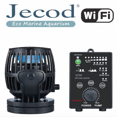 Jecod SOW5 M + Wi-FI controller (Stromingspomp/wavemaker)