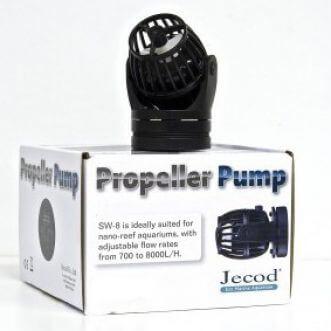 Jecod SW2 + controller (Stromingspomp/wavemaker)