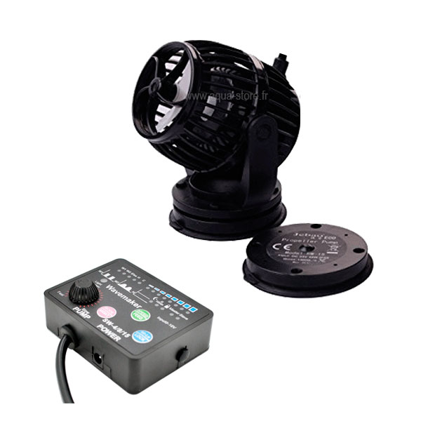 Jecod SW4 + controller (Stromingspomp/wavemaker)