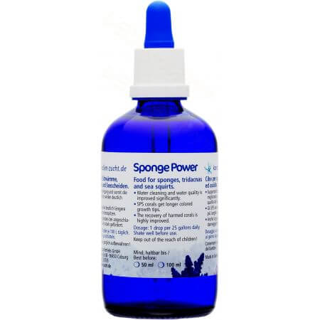 Korallen-Zucht Sponge Power 100 ml