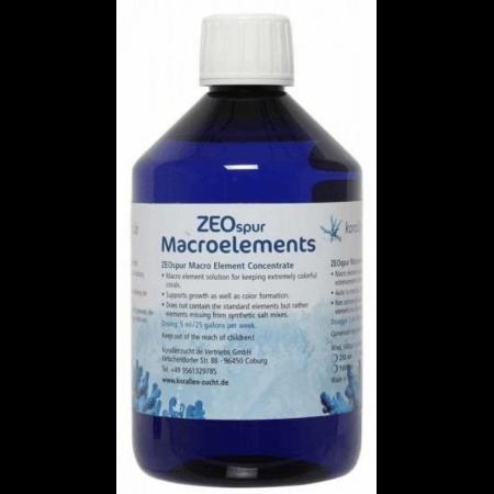 Korallen-Zucht ZEOspur Macroelements